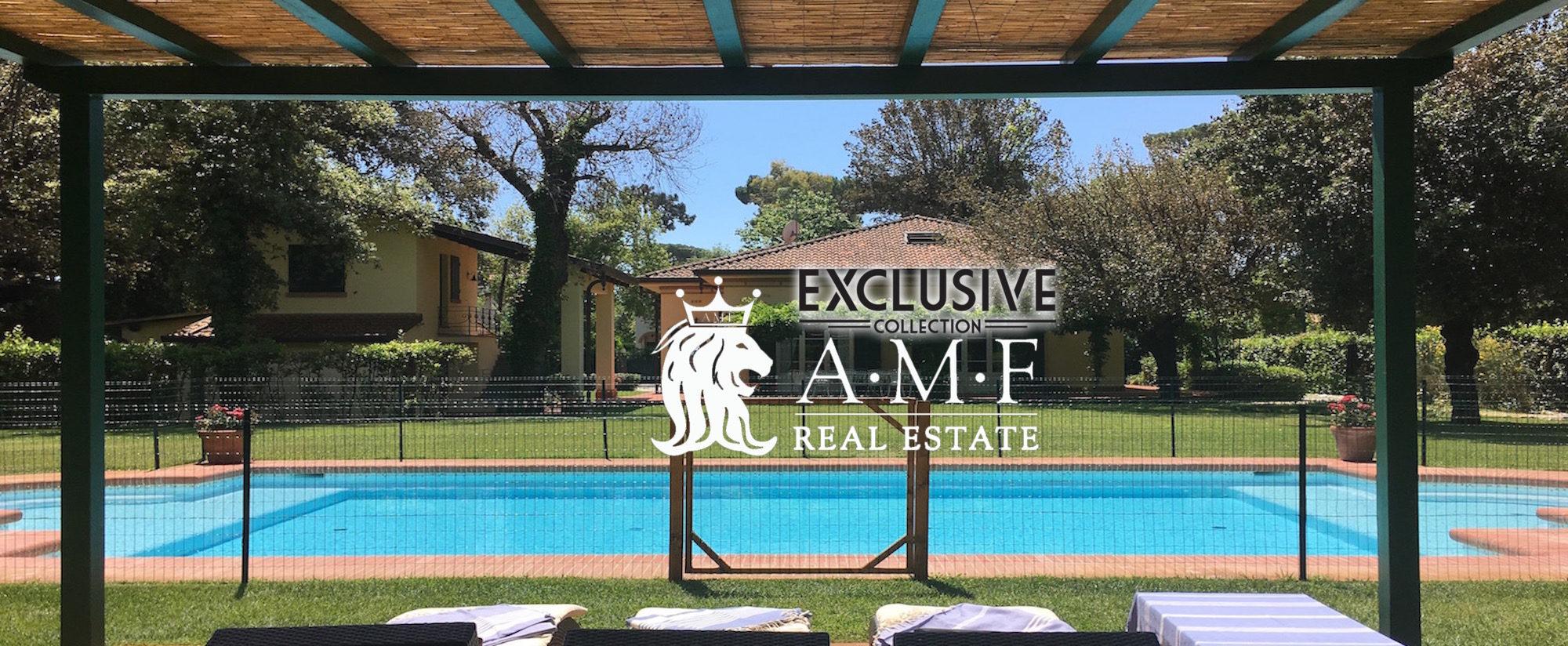 A18009-RM Villa for Rent Forte dei Marmi